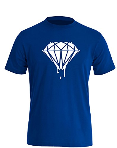 Blood Diamond - Herren TShirt Royal / Weiß