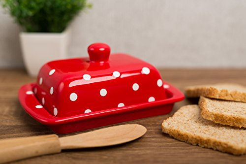 city-to-cottage-red-and-white-polka-dot-hand-painted-ceramic-butter-dish-with-lid