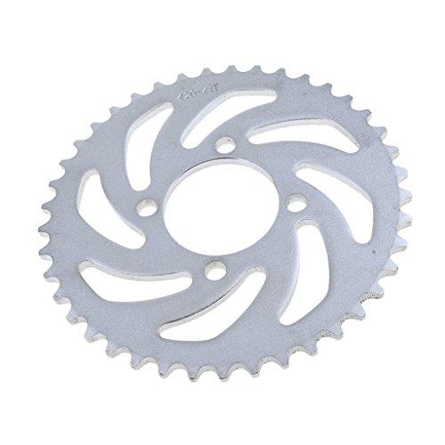 Baoblaze 1 Stück Kettenblatt hinten 420 Kette 41 Zähne Kettensätze Antrieb und Getriebe Für 125ccm Grube Pro Trail Quad Dirt Bike