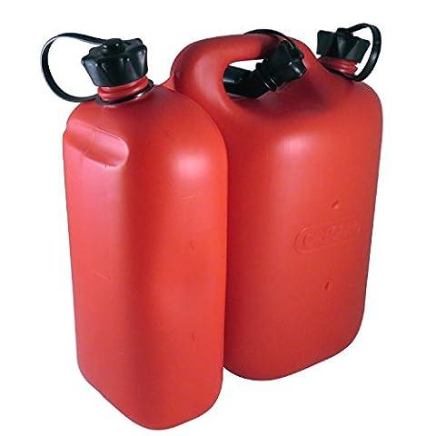 Oregon 562407Rouge combi-can, 5l de carburant et 3l d'huile