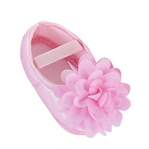 Tefamore Zapatos Bebe de Suave Estilo de Flor para Primeros caminantes (Tamaño:1,...