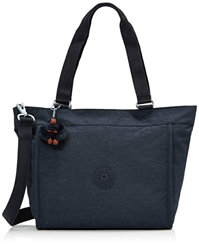 Kipling Damen NEW SHOPPER S Tote, Blau (True Navy), 42x27x13 cm