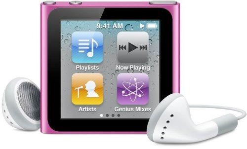 Apple Ipod Nano 6. Generation Pink Rosa 16GB Mp3 Player 6G