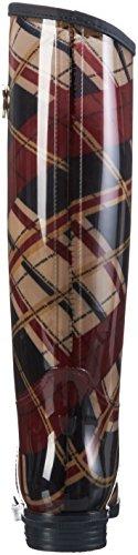 Tommy Hilfiger O1285xbridge 6r, Bottes hautes avec doublure froide femme Multicolore - Mehrfarbig (Corporate 268)