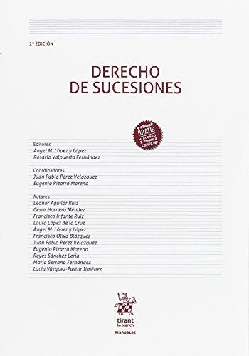 Derecho de sucesiones por Ángel Manuel . . . [et al. ] López y López