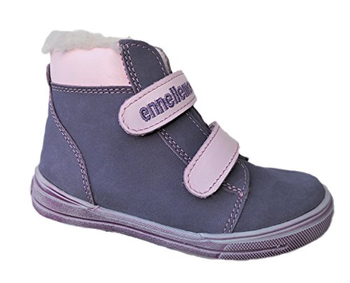 ennellemoo®  Made in EU , Chaussures bateau pour fille Violett/Rose