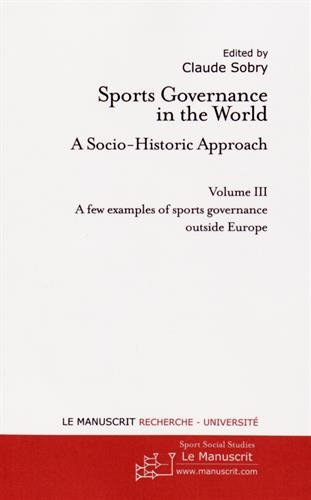 Sports Governance in the World III par Claude Sobry