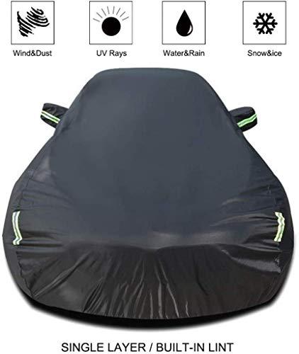 VOFJCY Autoabdeckung Kompatibel mit Nissan SYLPHY Car Cover Car Plane Allwetter Regen Sonnenschutz Winddichtes Staubdichtes Outdoor Indoor Car-Schild (Größe, Einbauschränke lint), Einbau-lint