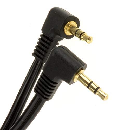 kenable 006048 Audiokabel 2 m 3,5 mm schwarz - Audiokabel (3,5 mm, männlich, 3,5 mm, männlich, 2 m)