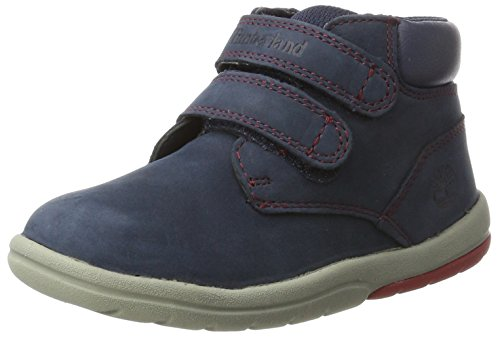 Timberland Kids Toddle Tracks Hook and Loop Stiefel, Blau (Outerspace), 29 EU