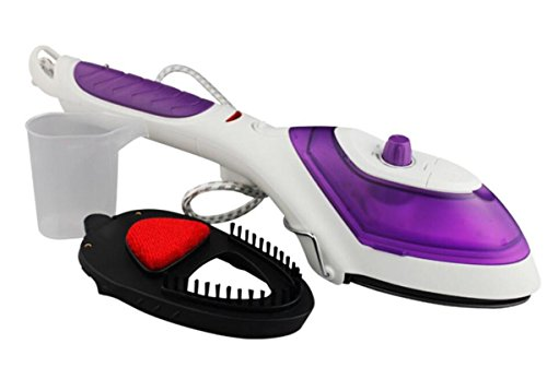 Nueva versión portable de la versión del poder más elevado del cepillo 900W del vapor de la manija que plancha del vapor que cuelga la máquina caliente , purple
