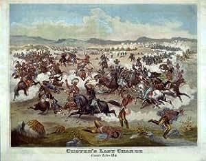 Custer dernier Support Tapis de souris rétro
