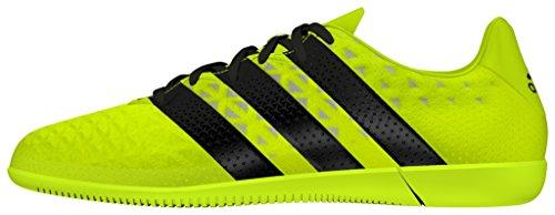 adidas Ace 16.3 In J, Chaussures de Foot Garçon Amarillo (Amasol / Negbas / Plamet)
