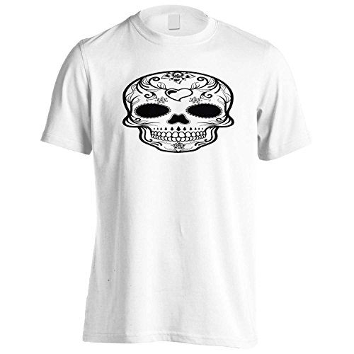 EN SKELETON KOPF LUSTIG NEUHEIT Herren T-Shirt k6m (Herren-lustigen Halloween-t-shirts)