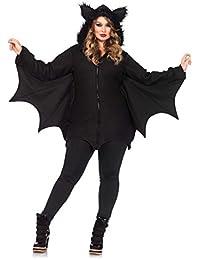 Leg Avenue Costume Chauve Souris Noir Taille M