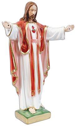 Decocentrum Statue Figurine Catholique Statue Sainte Vierge de Fatima 23cm