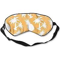 Comfortable Sleep Eyes Masks Coconut Palm Trees And Pineapples Printed Sleeping Mask For Travelling, Night Noon... preisvergleich bei billige-tabletten.eu