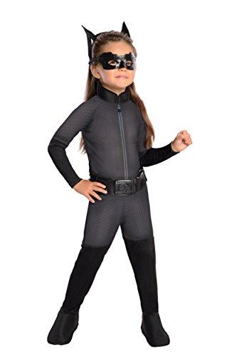 Catwoman Superhelden Mädchen Kostüm - Catwoman-Kostüm für Mädchen