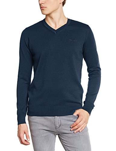 Teddy Smith Herren, Pullover, Pulser Bleu (Us Navy Chiné)