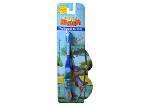 DentoShine Chhota Bheem Toothbrush for Kids Blue