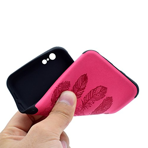 "inShang Hülle für iPhone 7 4.7"" ,Ultra Schlank und leicht TPU Bequem Schutzhülle Rückcover (Back Case) design für Handy iPhone7 4.7 inch, + inShang Logo hochwertigen Stylus Eingabestift Stift Rose chimes"