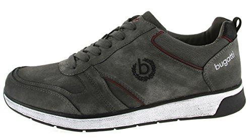 Bugatti Herren , Schnuerschuhe, grau, 641211-9 grau