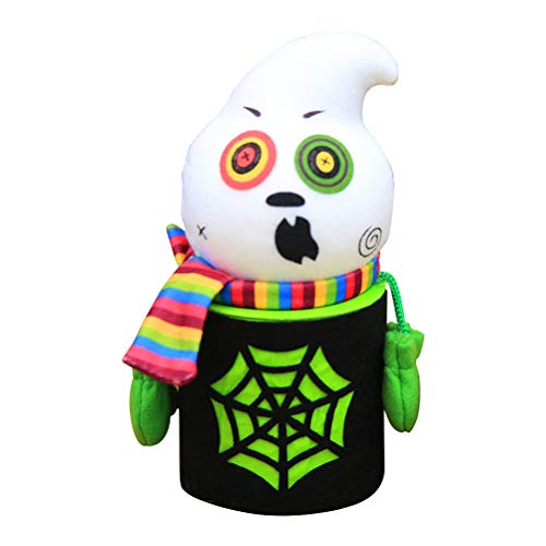 BESTOYARD Halloween Süßigkeiten Halter Ghost Treat Eimer Cookie Süße Halter Container Kinder Geschenkbox Halloween Party Favors