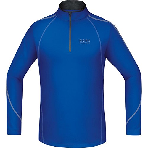 Gore Running Wear, Camiseta De Manga Larga Para Correr Para Hombre, Az