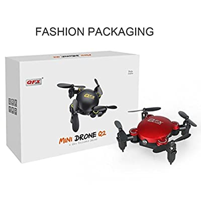 Q2 Mini 4-Axis 2.4Ghz 0.3MP HD Camera Wifi Headless Mode Drone 3D Flip RC UAV