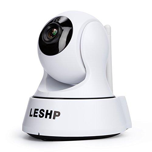 Telecamera IP, leshp Wireless WiFi Baby Monitor telecamera di sicurezza webcam HD 1280x 720P video sistema di sorveglianza telecamera con visione notturna per la casa Outdoor