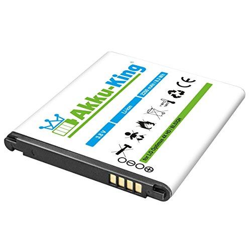 Akku-King Akku für LG Optimus 4X HD, L9, LTE 2, P760, P769, P880, VS930, F160K, Escape - ersetzt BL-53QH - Li-Ion 2200mAh
