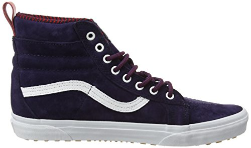 Vans Sk8-Hi Mte, Baskets Basses Mixte Adulte Bleu (MTE evening blue/true white)