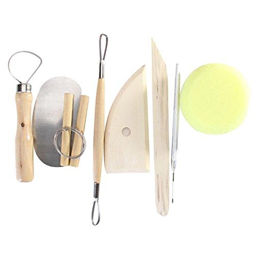 8 Stück Ton Schnitzmesser Werkzeuge Set