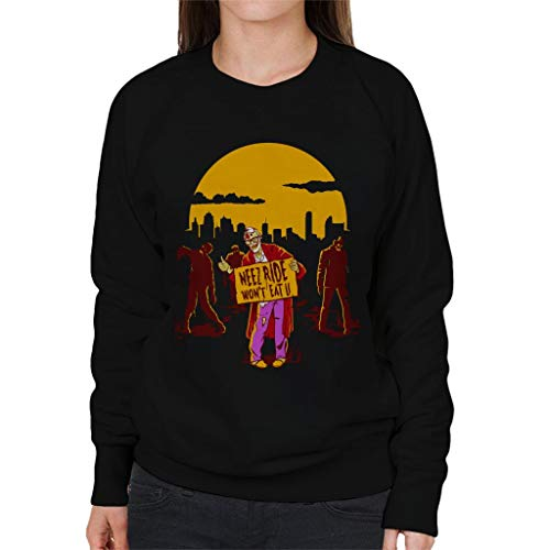 Cloud City 7 Neez Ride Wont Eat U Women's Sweatshirt