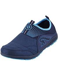 Metro Women Grey Synthetic Walking Shoes (36-8035)
