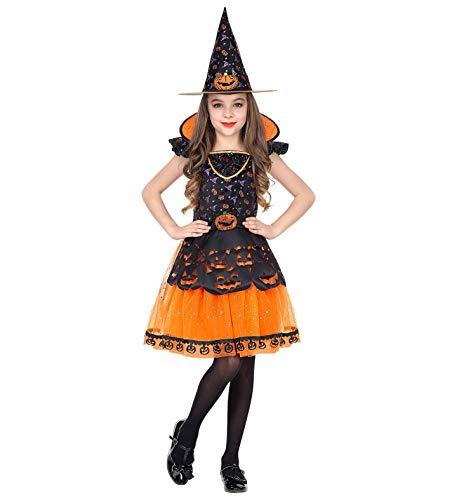 24costumes Kinder Hexen Kostüm: Größe: 140 - Stich Kostüm Hexe