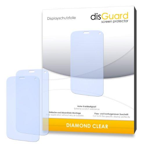 3 x disGuard® Schutzfolie Wiko Darkfull Bildschirmschutz Folie