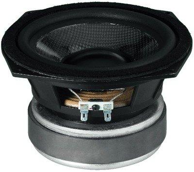 Monacor 10.2330 High-Performance Hi-Fi Bass Midrange Speaker with Carbon Fiber Cone