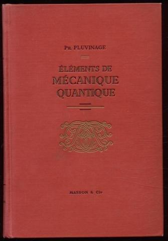 Eléments de mécanique quantique