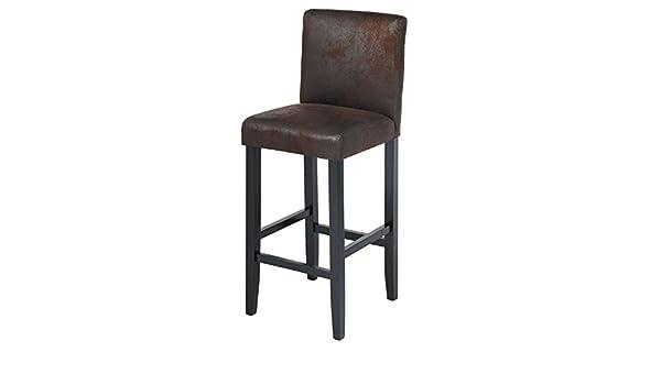 Eugad sgabello da bar bistro sedia con schienale delle gambe in