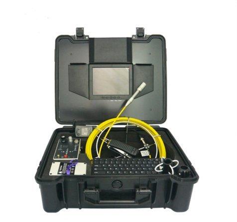 mabelstar 20,3cm Display 30m Schubstange CCTV Rohr Inspektionskamera System mit Aufzeichnung DVR
