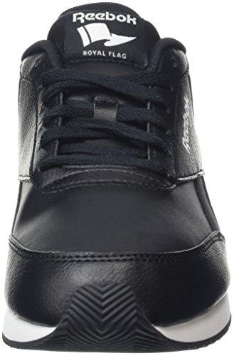 Reebok Royal CL Jog 2L, Chaussures de running entrainement homme Noir (Black/White/Flat Grey)
