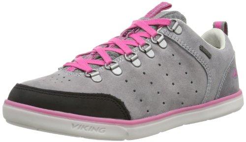 Viking Airflow Lady, flâneurs femme gris - Gris (Grau (grey/dark pink 339))