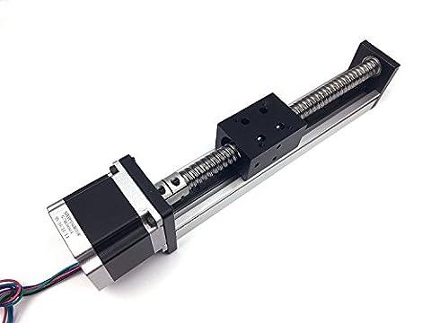 Ten-High SGX Serie 600mm 60cm Effektive Stroke Linear Stage ACTUATOR DIY CNC Router Teile ballscrews SFU1204mit einer 23NEMA 57Stepper Motor, ballscrews Linear Modul Schiebetür Tisch Motion System