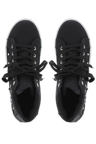 Go Tendance, Sneaker Femme Noir (noir)