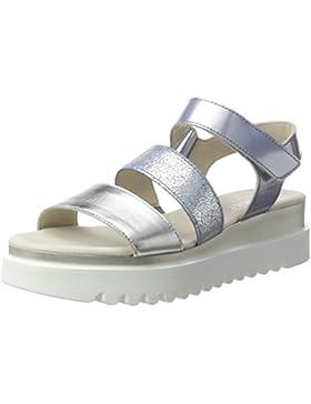 Gabor Damen Fashion Offene Sandalen mit Keilabsatz