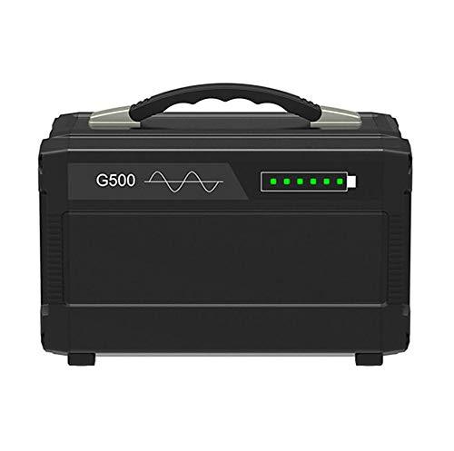 Comprajunta Portable Power Station 500W 120000Mah, AC/DC / USB/Typ-C-Ausgang, Generator Und Inverter Für Mobilgeräte, Tablets, Laptops Und Mehr, 110-220 V / 50-60 Hz,110V - 110v Dc-a/c