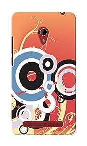 KnapCase Abstract Designer 3D Printed Case Cover For Asus Zenfone 6