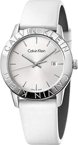 Calvin Klein steady K7Q211L6 Montre-Bracelet pour hommes Fabriqué en Suisse