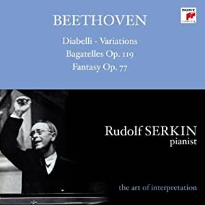 Beethoven: Diabelli-Variations / Bagatelles / Fantasy